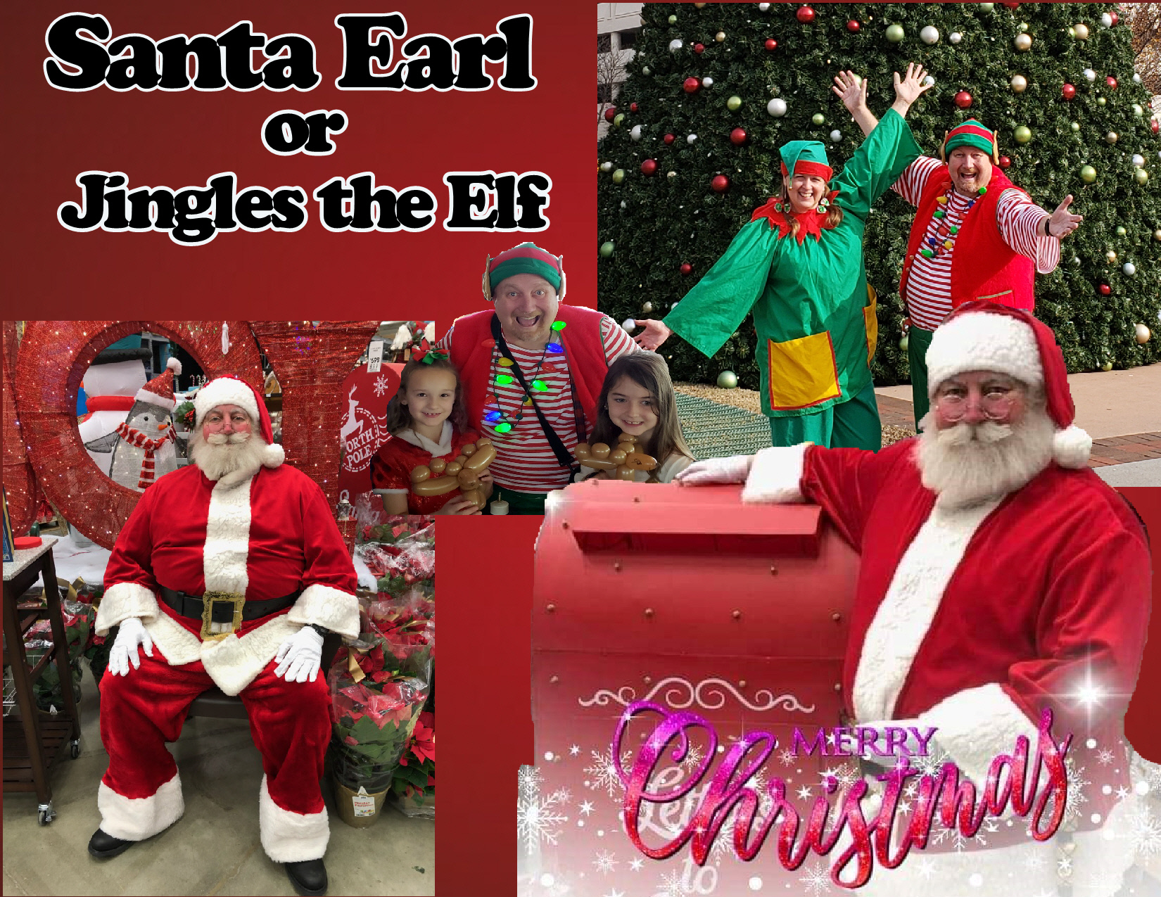 Santa Earl or Elves