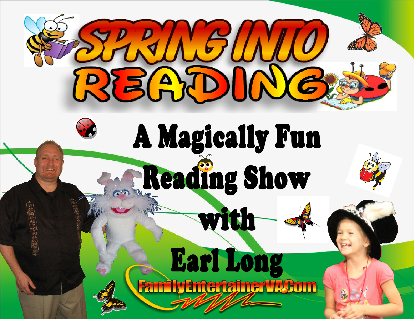 Spring Into Reading Show