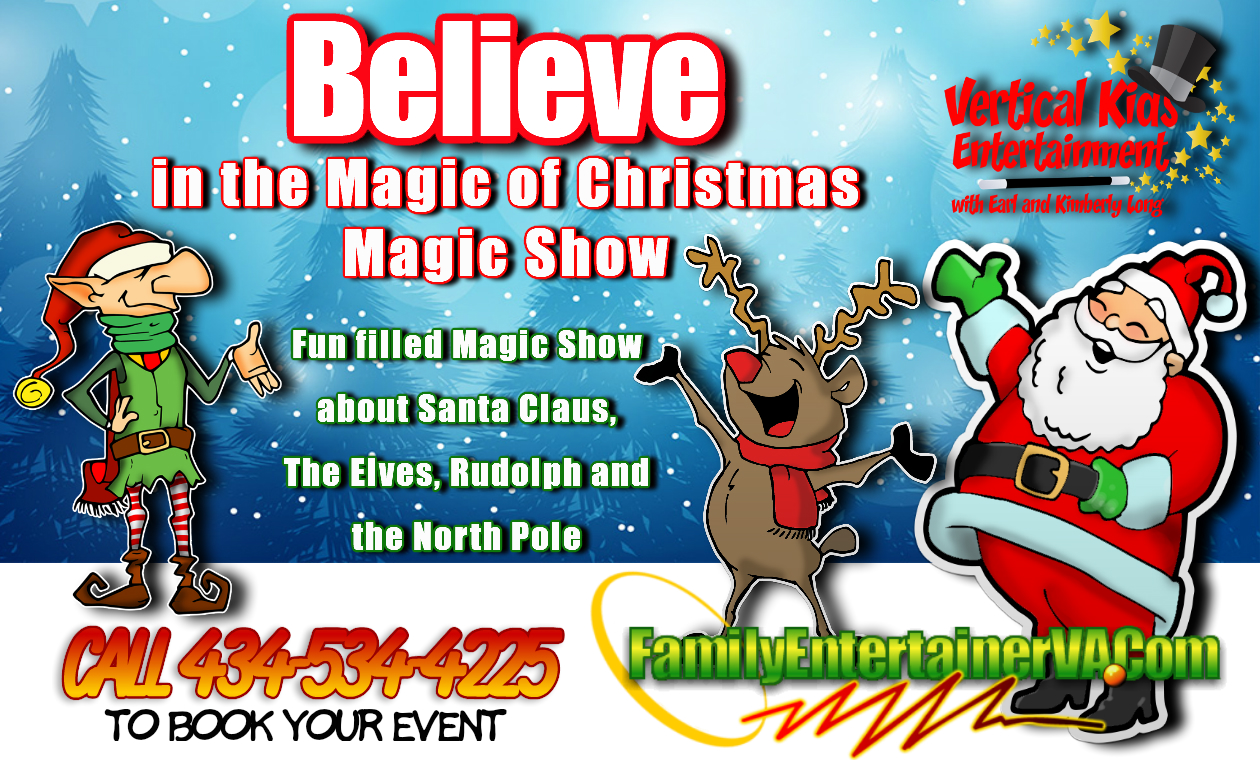 Fun filled Christmas magic show
