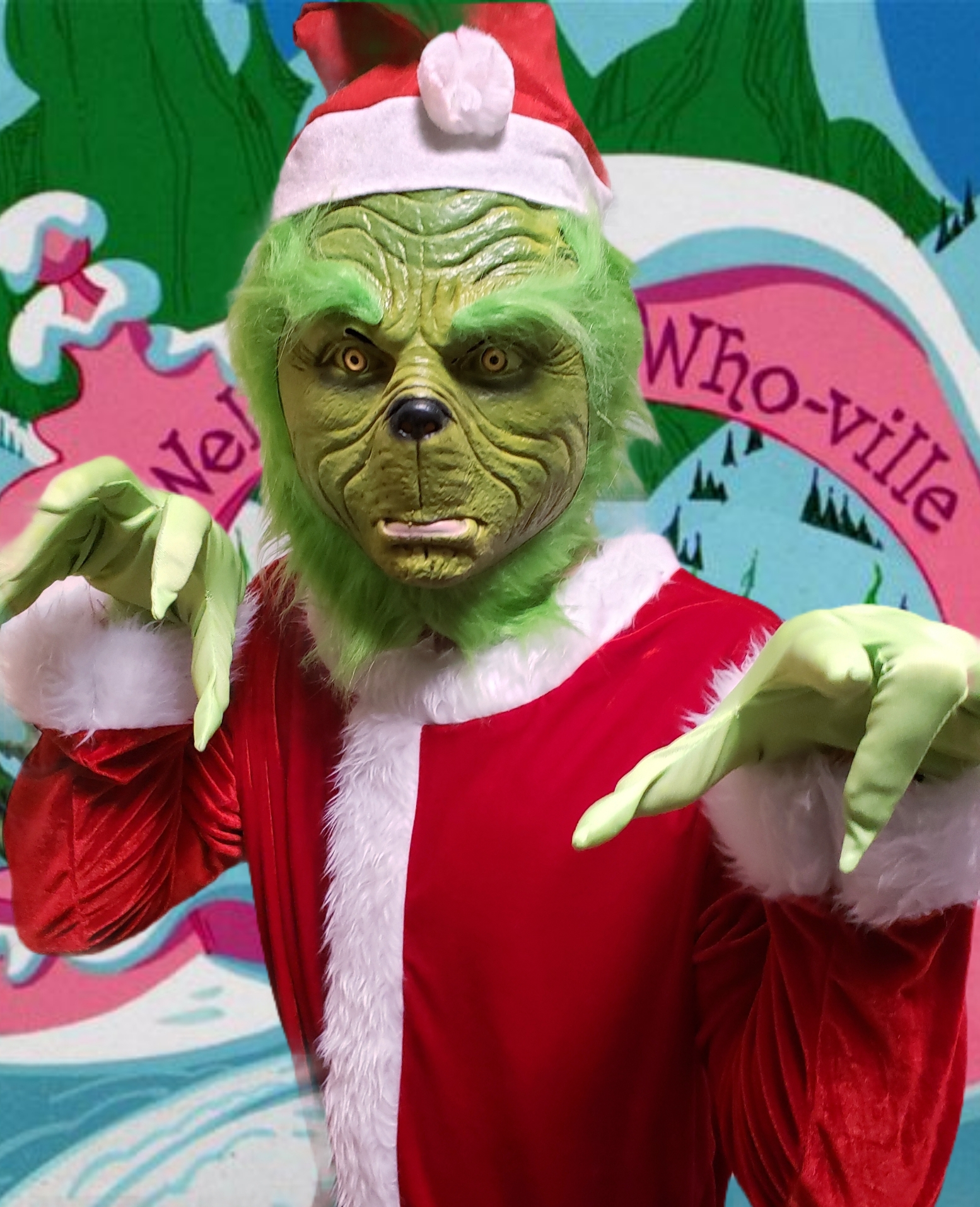 The Grinch in Who-ville