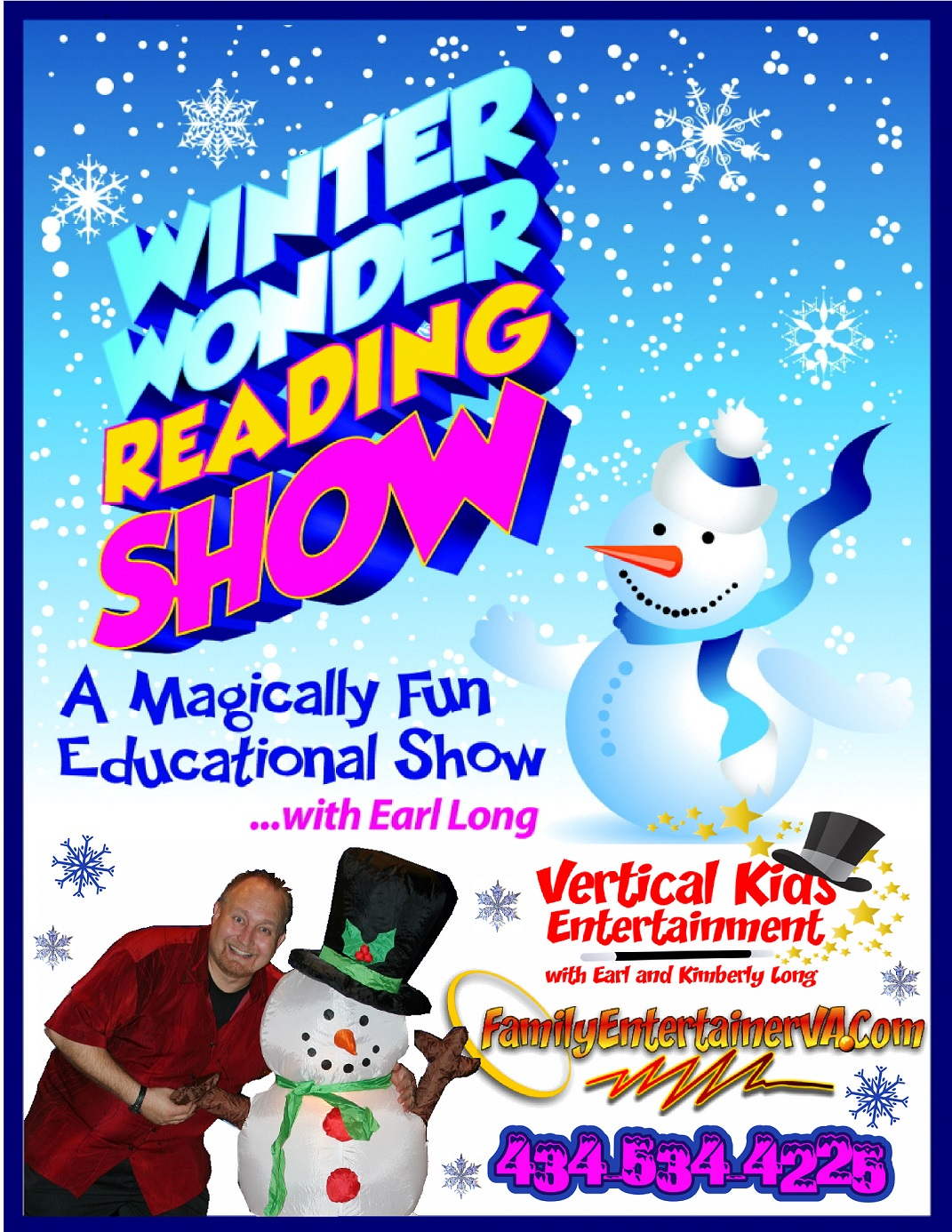 Winter Wonder Reading Show