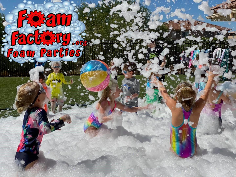 Foam Party beach balls