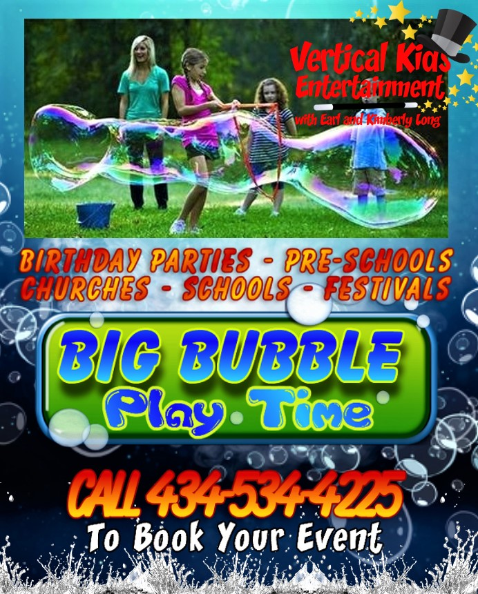 Bubble Play Parties poster