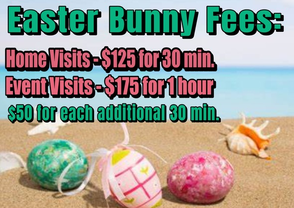 Easter Bunny Fees
